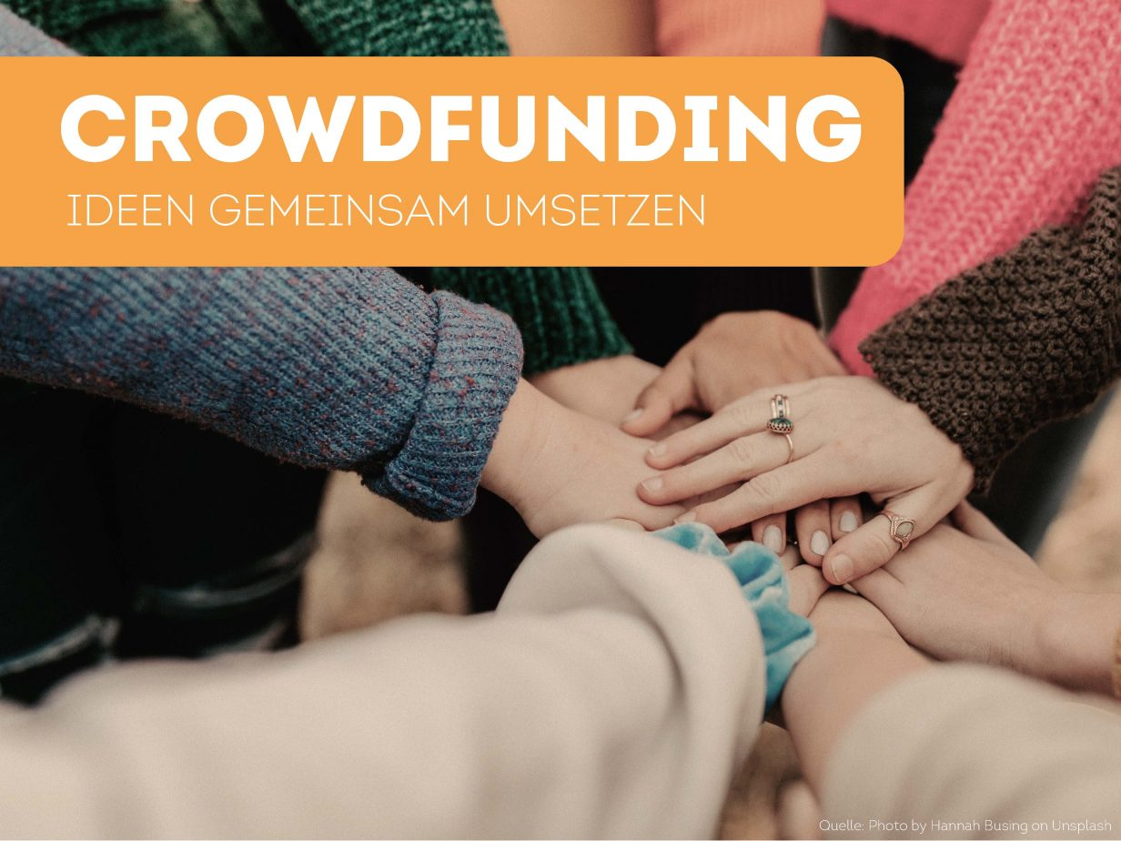 Crowdfunding Campus Workshop Gründen mit Crowdfunding #mseimpuls